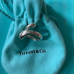 Tiffany Tear Drop Ring